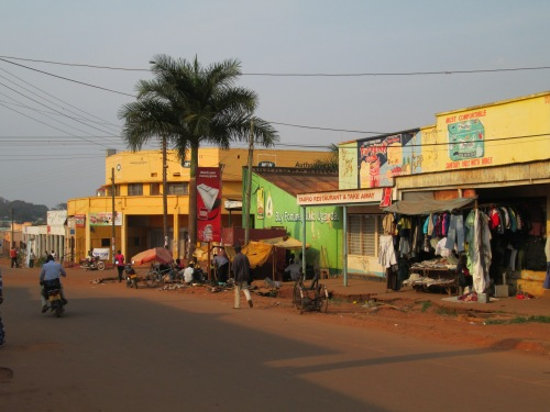 A quiet afternoon in Gulu.