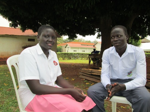 I met Sandra and Patrick at an Invisible Children event in Gulu.